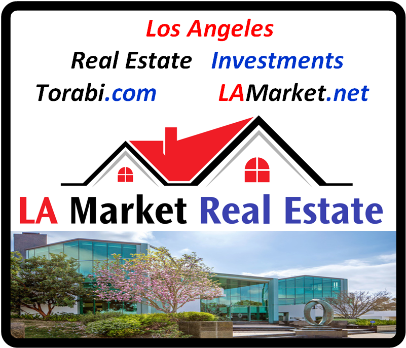 Torabi.com LAMarket.net Real Estate Investment Business Logo #losangeles