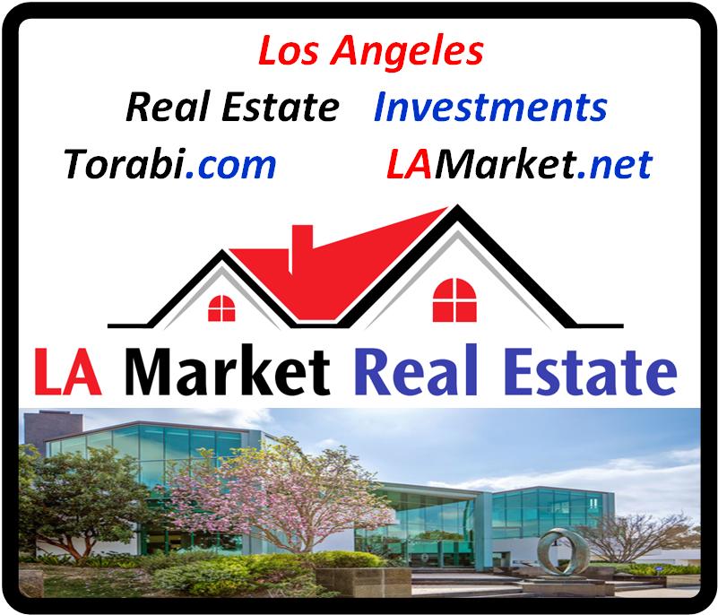 Torabi.com LAMarket.net Real Estate Investment Business Logo #losangeles